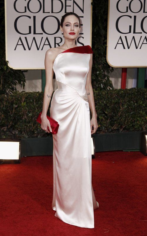 golden globes 2012Angelina 3, Globes 2012, Beautiful Women, Red Carpets, Angelina Jolie, Fashion Center, Golden Globes, The Dresses, White Gowns