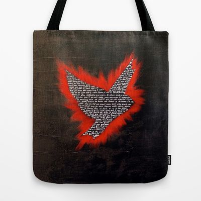 ThePeaceBombs - Elvis Tote Bag by ThePeaceBomb - $22.00#thepeacebomb #totebage #madeintheusa #love #words #elvis #black #red