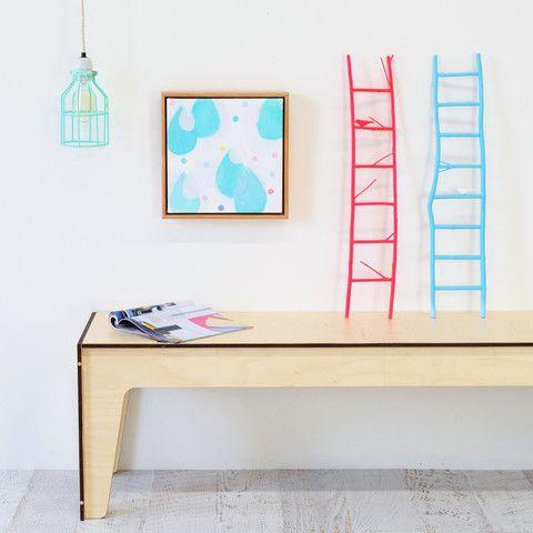 twig ladder by twiggargerie