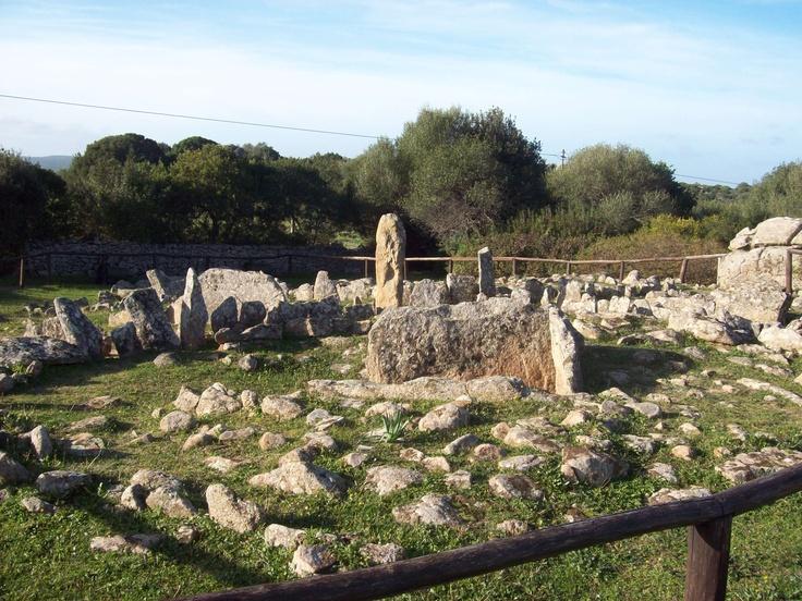 Nuragic cemetery, Arzachena . Sardinia/Cerdeña