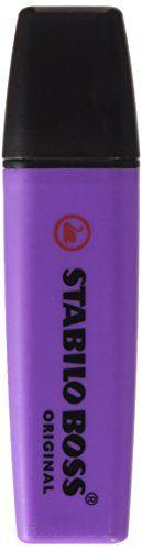 Stabilo BOSS original highlighter chisel tip lavender ink... https://www.amazon.co.uk/dp/B000KJR1PS/ref=cm_sw_r_pi_dp_x_.9XOyb1FV8N5M
