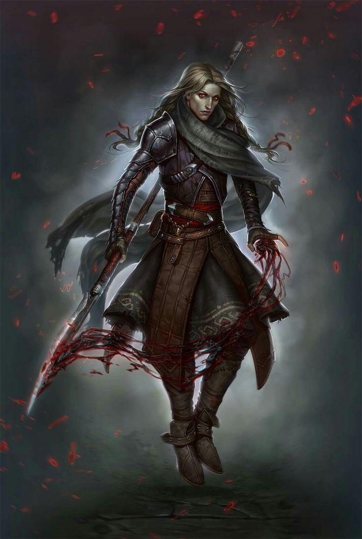 f Rogue Assassin Med Armor Spear midlvl