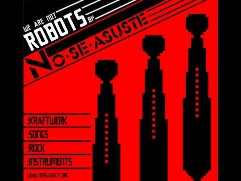No Se Asuste - Wir Sind die Roboter (Kraftwerk cover Rock Instruments)