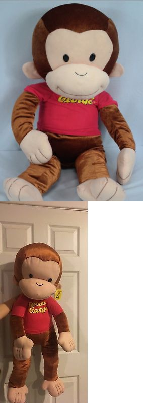 Curious George 19215: Kellytoy Curious George T-Shirt Stuffed Animal, 38 Inches -> BUY IT NOW ONLY: $89.99 on eBay!