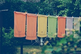 as decorative as it is functional: Clotheslines Memories, Laundry Room