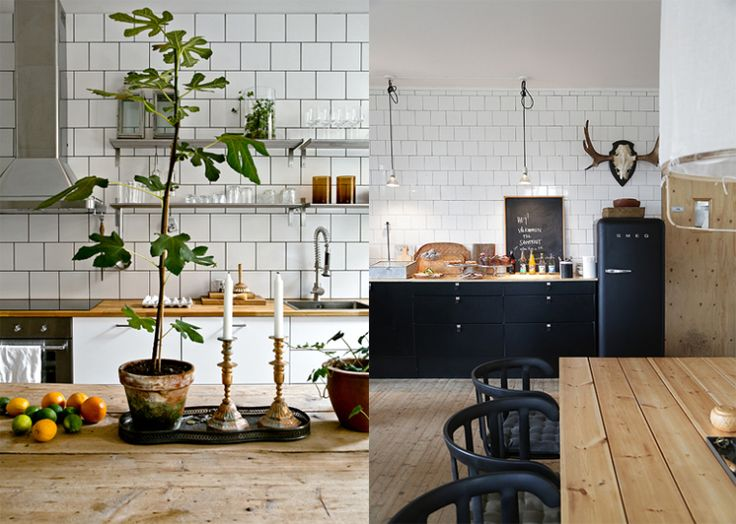 Mooi voor in huis: witte vierkante tegels