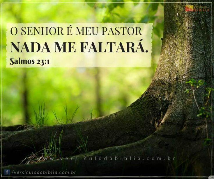 Versículo Bíblico  Salmo 23:1 -  O SENHOR é o meu pastor nada me faltará.  Salmos 23:1  The post Versículo Bíblico  Salmo 23:1 appeared first on Versículo da Bíblia.