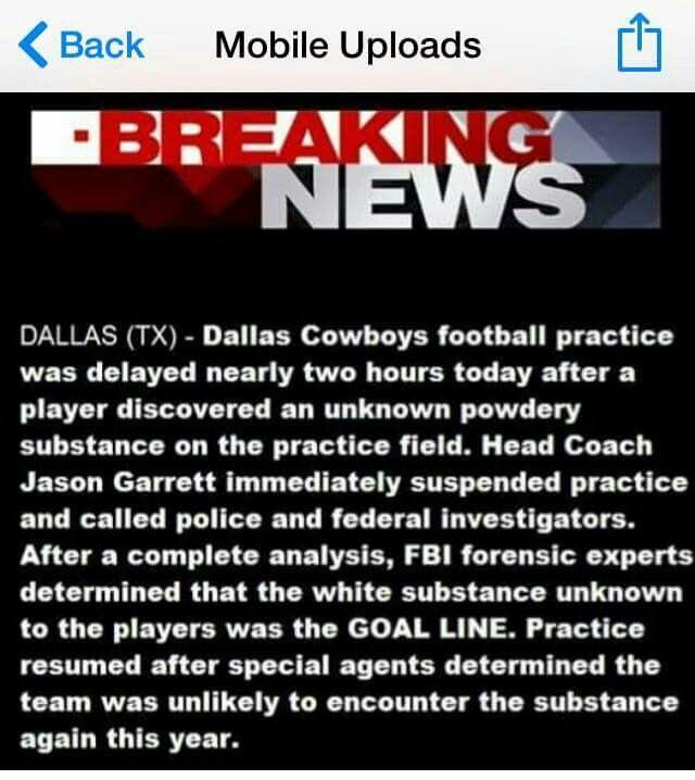 Haha Dallas cowboys