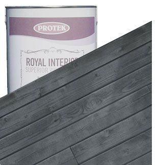 Royal Interior Wood Finish Slate Grey Gray Wood