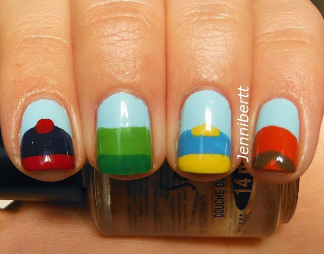 South Park Nails- kinda neat.. Must be hardcore fan xP