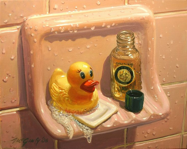 Mick McGinty | OIL | Herbal Ducky