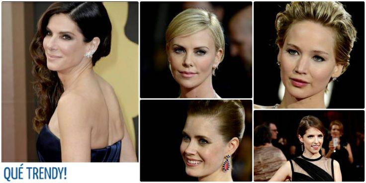 Las tendencias de los Óscars en maquillaje: cosmética de acabado natural con BB Cream, colorete y coral en labios #quétrendy