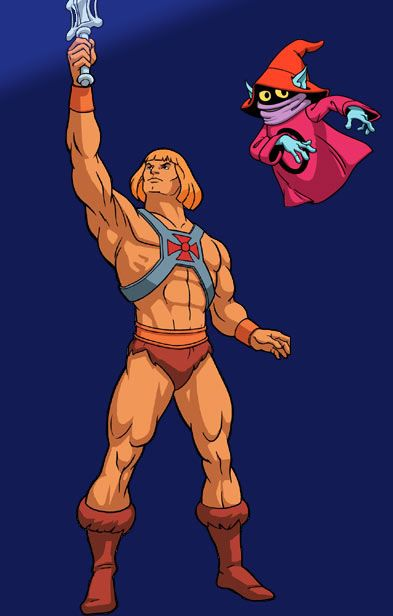 He-Man and Orko. I have the power!!!