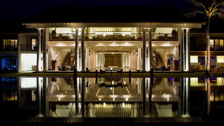 The Fortress hotel on the southern coast of Sri Lanka
