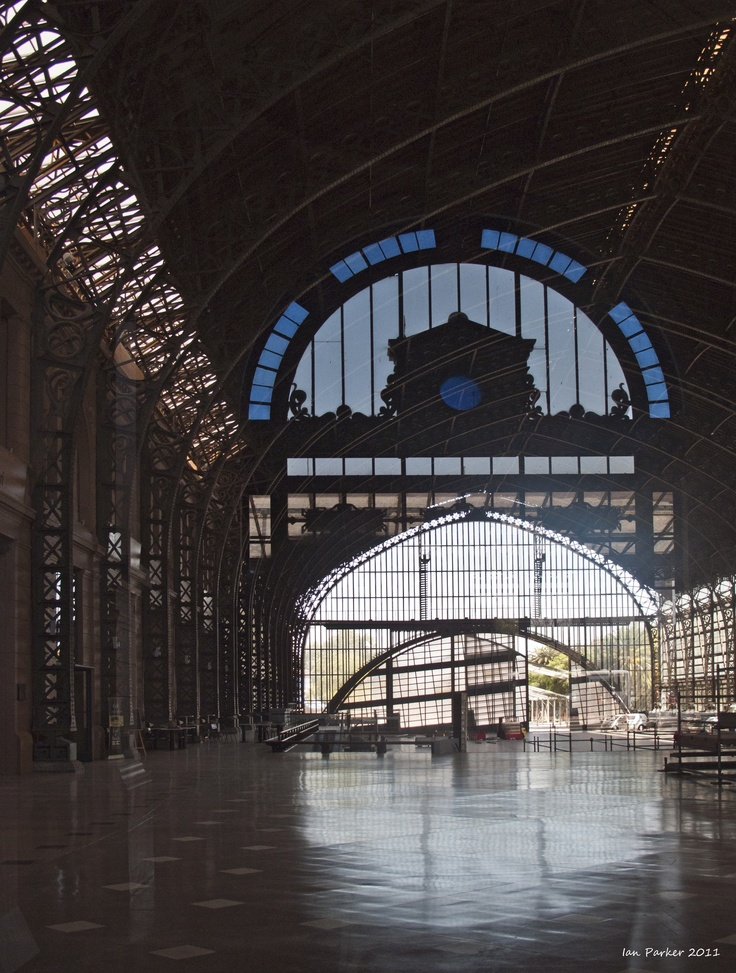 Old train station in Santiago, Chile