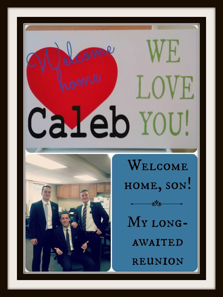 Welcome Home, Son! - Postcards & Passports