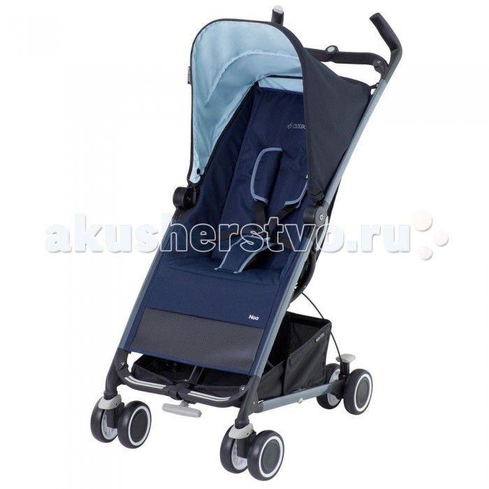Коляска-трость Maxi-Cosi Noa  Коляска-трость Maxi-Cosi Noa – компактная и легкая прогулочная коляска. Она имеет четыре пары сдвоенных колес, едет легко, а передние поворотные колеса добавляют управляемости.  Maxi-Cosi Noa подойдет для ежедневных прогулок с ребенком, а в путешествиях и поездках она просто незаменима. Коляска складывает одной рукой, а для транспортировки в нее встроена выдвижная ручка, как у чемодана. Maxi-Cosi Noa легко катить за собой, а перевозить в багажнике ее можно как в…
