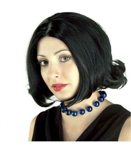 Περούκα Deluxe κοντή μαύρη