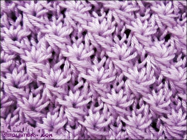 Knit Daisy Stitch Round : 17 Best images about Knitting on Pinterest Free pattern, Knitting stitches ...