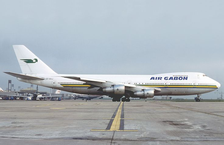 Gabon Airlines- | ... Boeing 747-2B4BM, Air Gabon was purchased from MEA -of Lebanon