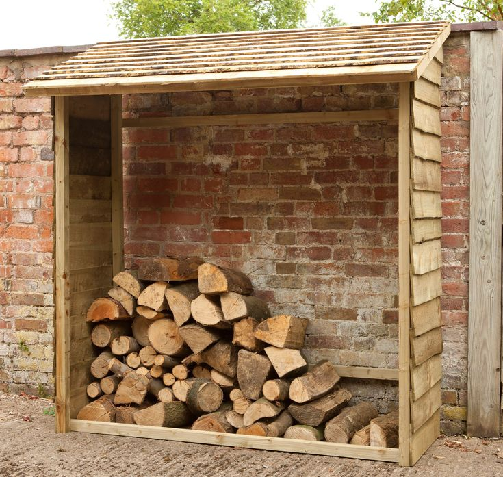 6X2 Overlap Wooden Wall Log Store | Departments | DIY at B&Q