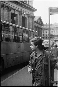 Борис Гребенщиков в 1987 году