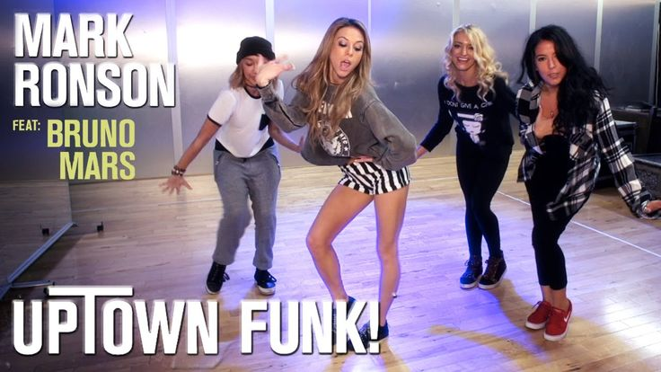 Mark Ronson - Uptown Funk ft. Bruno Mars (Dance Tutorial) Also because I love this tune with the moves sooo happy song for me!