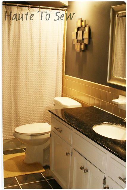 1000 ideas about cheap bathrooms on pinterest cheap for Cheap bathroom ideas