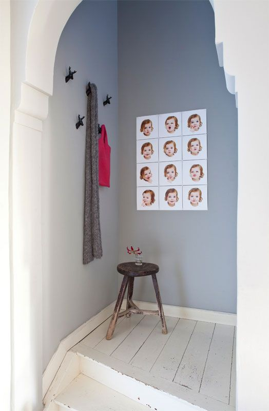 IXXI wall decoration made with portraits of a little girl. Beautiful images of a delightful girl. The IXXI in this example will cost $44.75 (own images, 60 x 80 cm). #ixxi #ixxidesign
