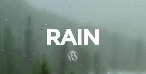 RAIN - Responsive WordPress Theme
