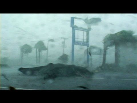 Hurricane Charley: Everything's Flying...  I rode this hurricane out when I lived in Port Charlotte, Florida.
