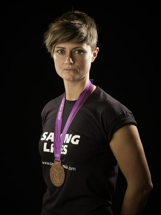 Sally Walton supporting sport saving lives www.savinglivesuk.com  @Saving Lives #TeamTK