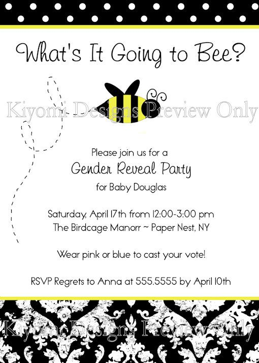 spelling bee invitation template - 65 best what 39 s it gonna bee gender reveal images on