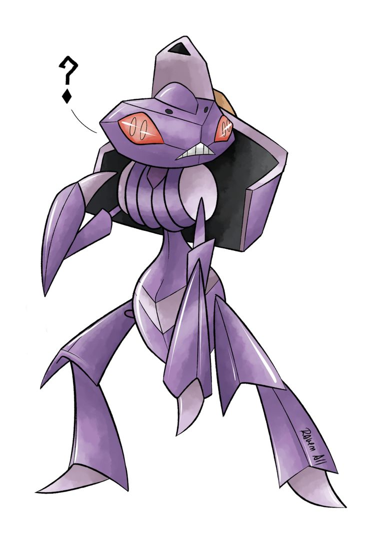 2: Genesect by allocen.deviantart.com on @DeviantArt. // #Pokemon #Genesect #fanart