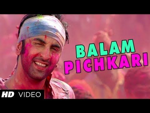 "Its time to get drenched with ""Balam Pichkari"" in voice of prolific singers Vishal Dadlani, Shalmali Kholgade from upcoming hindi movie Yeh Jawaani Hai Deewani directed by Ayan Mukerj"