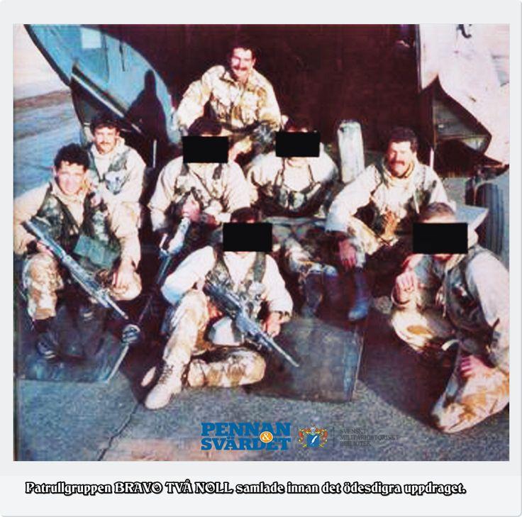 En känd överlevare från historien var en SAS- operatör i patrullgruppen BRAVO TVÅ NOLL. Patrullgruppen bestod av 8 man som under första Irakkriget sändes in bakom fiendens linjer för att sabotera irakiska Scud-robotar. Gruppen blev upptäckt, 3 män dog under striden och 4 män togs till fånga. Den 8:e medlemmen lyckades fly över 300 km till fots genom öknen till Syrien. Hans överlevnadskunskaper från sin hårda utbildning kom då väl till pass.