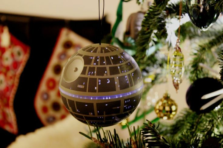Build your own Death Star ornament