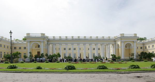 Tsarskoe Selo Alexander Palace where the royal family were ...