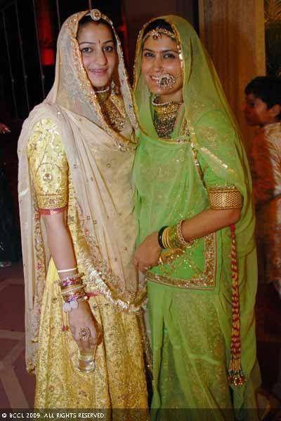 Traditional rajput attire