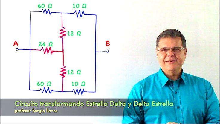Circuito aplicando Estrella Delta. Curso de  Electricidad - Clase 18