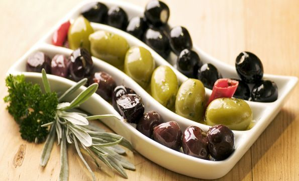 Olives contain A, D, E and K Vitamins which help the human bones to grow.