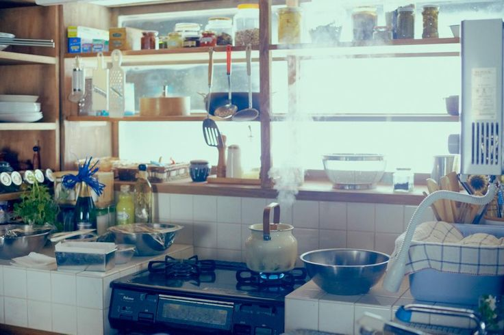 Takashi had a tough life. the kitchen was her refuge. Cooking made her forget his abusive husband who was in prison because of drug dealing.