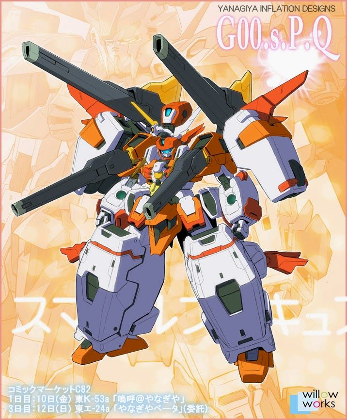 Gundam 00 X Smile Pretty Cure / Precure Fan Made Concept Art CImages - Gundam Kits Collection News and Reviews