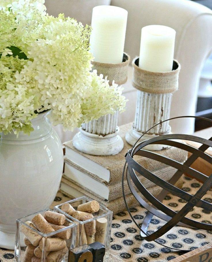 partavelas manualidades preciosas velas romanticas madera blancos ideas