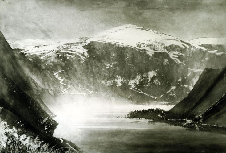 Scotland / South of Loch Ness   Norman Ackroyd