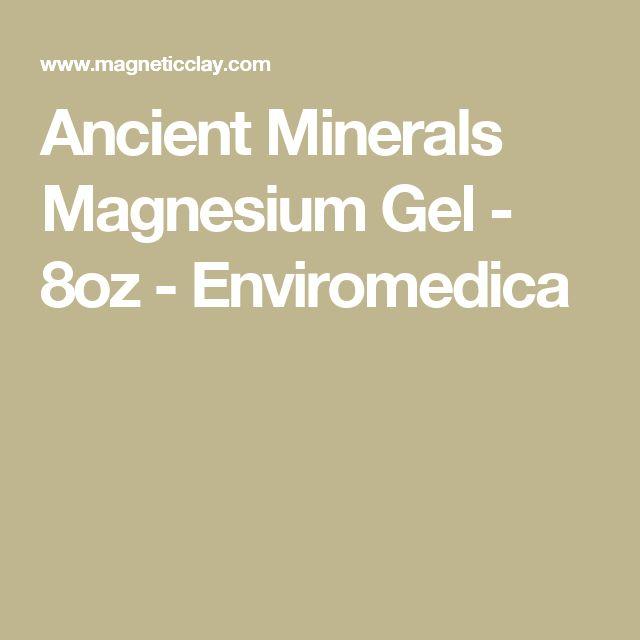 Ancient Minerals Magnesium Gel - 8oz - Enviromedica