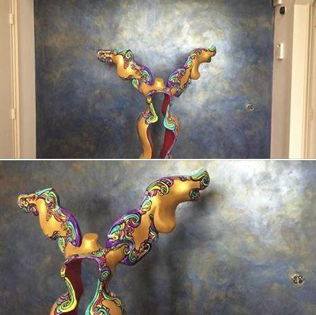 Nieuwe wand van Spirito Liberio gemaakt door Bos Schilderwerken