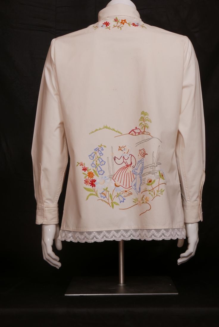 Vonkamies/Raftsman's Bride (On the Honor of Ansa) Strong cotton. Size M. WILL ELLE collection, SYSI design