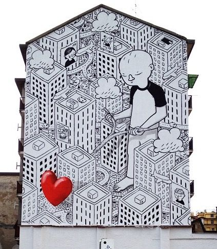 """""""Everyone is Searching for It"""" by Millo in Milan, 3/15 (LP)"""