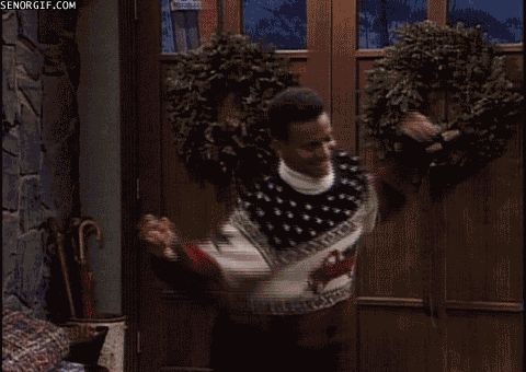 """Quick, back to happy thoughts before we all break down again. 